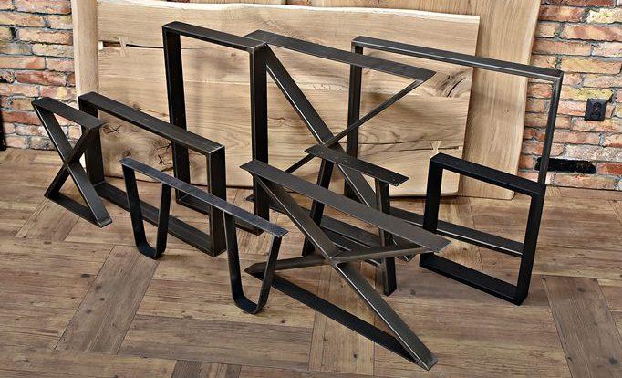 Hela utbudet av metall bordsben på Style24